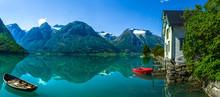 The Glacir Lake