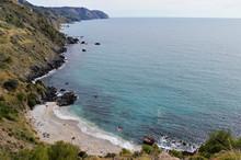 Playa, Maro, Nerja, Málaga, Costa, Mar, Paisaje, Paisaje Marítimo, Paisajes