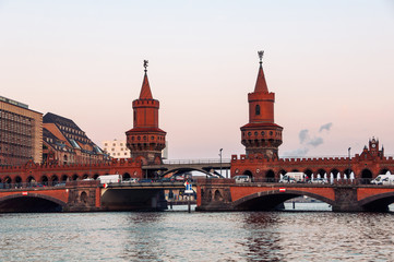 FototapetaOberbaum bridge in Berlin