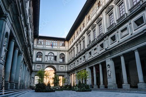 Muzeum sztuki Galeria Uffizi we Florencji