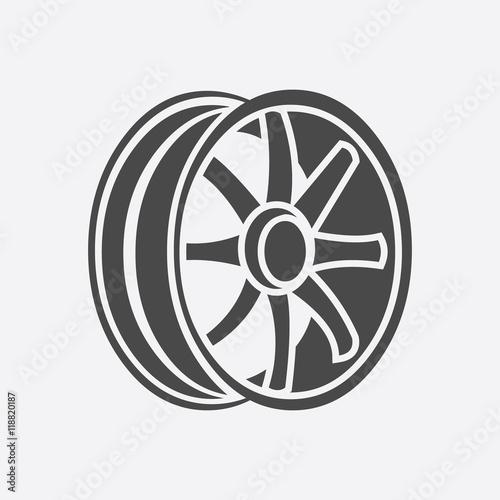 Photo Car rims icon
