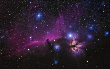 the great orion nebula is a diffuse nebula situated in the constellation of orion, and is visible to the naked eye