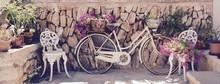 Grußkarte - Altes Fahrrad Mit...