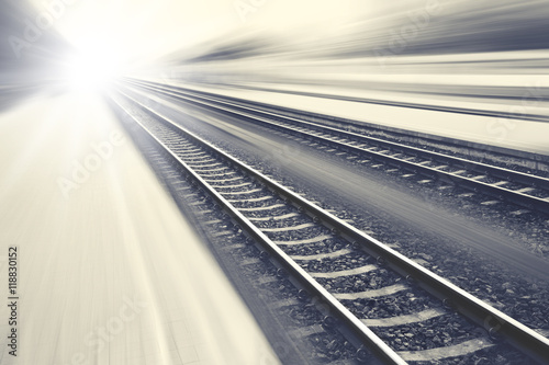 Canvas Prints Railroad Imagination railroad track