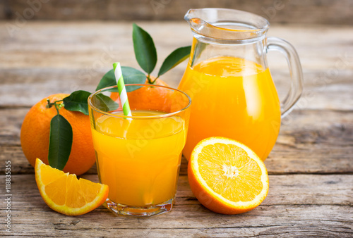 Poster Sap Fresh orange juice
