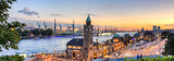 Molo w Hamburgu