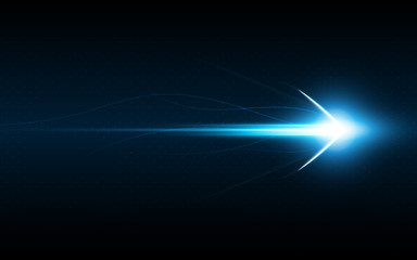 abstract arrow symbol forward speed technology innovation concept