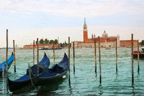 Spoed Foto op Canvas Venice boats