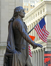 George Washington Statue With ...