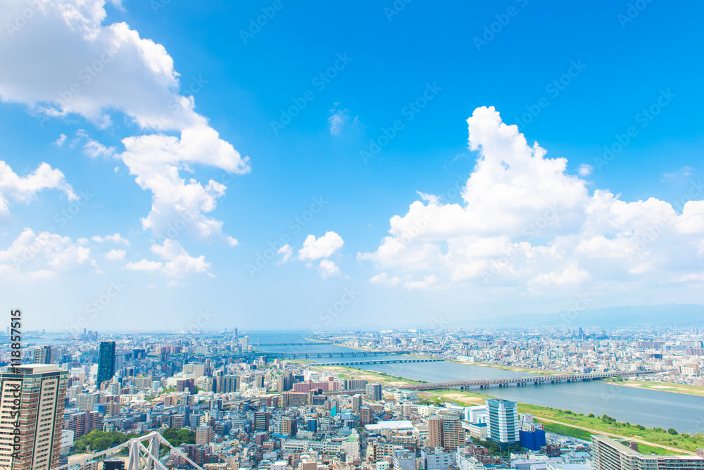 Fototapeta 都市風景,日本