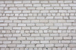 White silicate brick wall background or texture