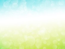 Abstract Green Blue Background