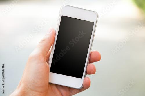 Fotografia  Smartphone in a hand