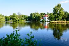 Church On The Water In Zwierzyniec