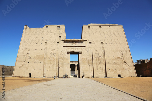 Fotobehang Temple Temple of Edfu Egypt
