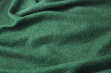 A Full Page Of Fluffy Green Fleece Fabric Texture