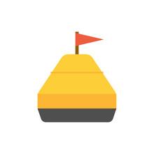 Sea Yellow Buoy