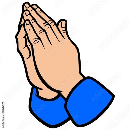 Fotografie, Obraz  Praying Hands