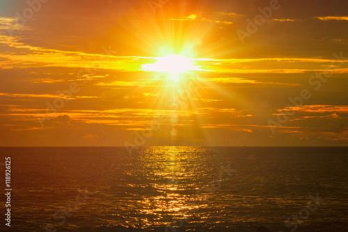 Fototapety, obrazy: Ocean sunset. Mirissa, Sri Lanka