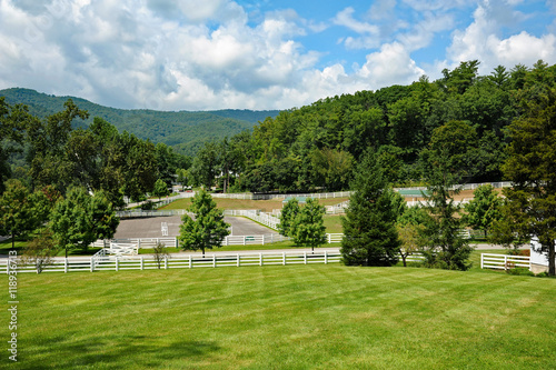 Fotografie, Obraz  Beautiful Horse Farm