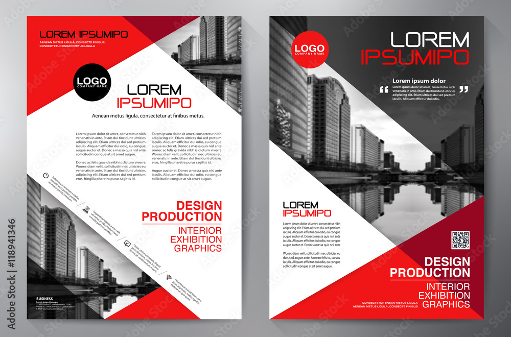Fotografía Business brochure flyer design a4 template    Europosters es