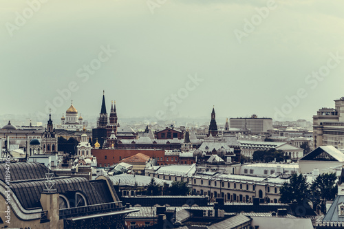 Roofs in the historic centre of the city of Moscow - 118947165