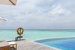 Maldives beautiful sea landscape