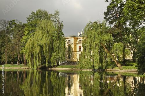Fotografie, Obraz  Palace of Doria Dernalowicz family in Minsk Mazowiecki. Poland