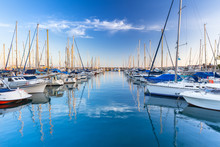 Marina With Yachts In Puerto D...