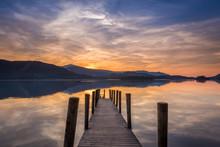 Sunset Derwent Water