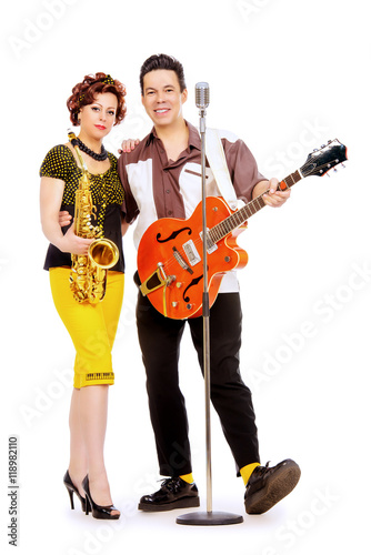 Jazz duo Poster