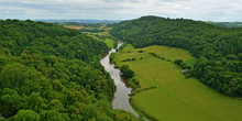 The River Wye From Symonds Yat...