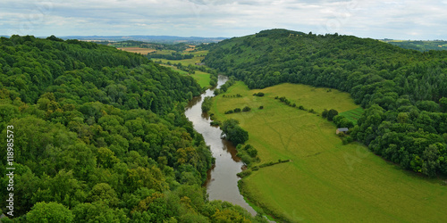 Valokuva  The River Wye from Symonds Yat Rock,  Forest of Dean.
