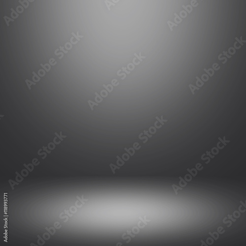 Abstract gradient grey room - display your products Wall mural