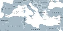 Mediterranean Sea Region Count...