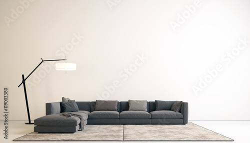 Fototapeta Living Room in modern style obraz na płótnie