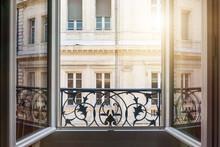 Open Window In Toulouse