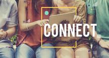 Connect Communication Technology Internet Lifestyle Concept