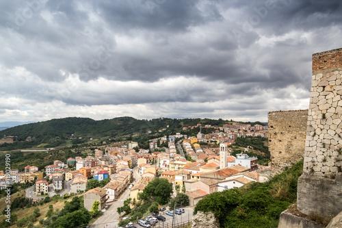 Photo Panorama di Calitri Visto dal Castello