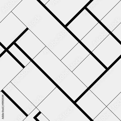 wzor-przekatnej-wielokata-prostokatne-linie-czarno-bialy