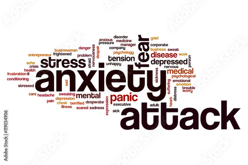 Image result for anxiety attack illustration