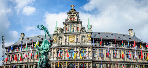 Canvas Prints Antwerp Anvers