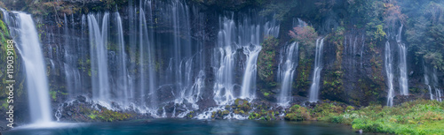 Spoed Foto op Canvas Watervallen Shiraito waterfall