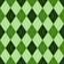 Seamless Argyle Pattern In Sha...