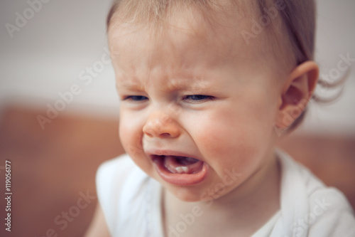 baby crying Poster