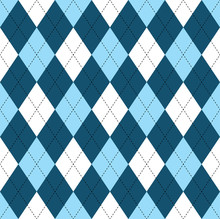Seamless Argyle Pattern In Dar...