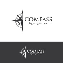 Compass Logo Design Creative Concept Template V.4