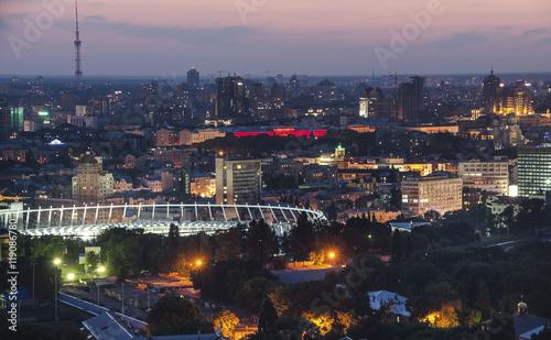 Poster Chicago Night in Kiev