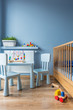 Stylish space of a little baby