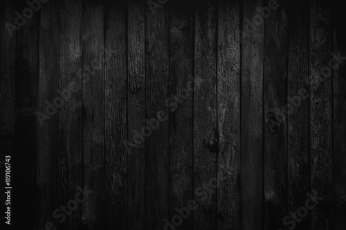 plakat Wood Dark background texture. Blank for design